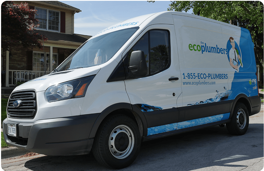 Eco Plumbers Truck